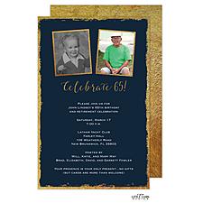 Anniversary Invitation: Framed Celebration Invitation