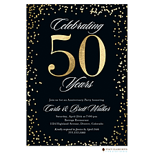 Anniversary Invitation: Big Anniversary Invitation
