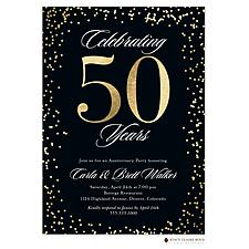 Big Anniversary Invitation - Anniversary Invitation