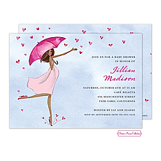 : Baby Love Shower (Multicultural) Invitation