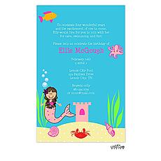 : Mermaid Invitation