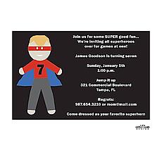 : Super Hero Invitation