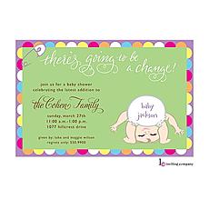 : Baby Change Invitation