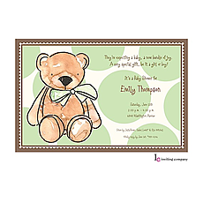: Teddy Invitation