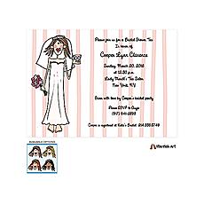 Bridal Tea Invitation -