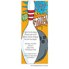 : Strike or Spare Invitation