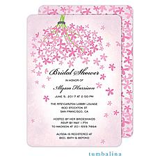 Floral Invitation -