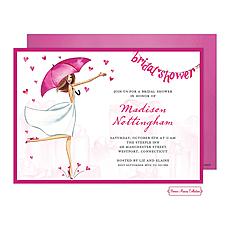 Bridal Love Reigns Banner Invitation -