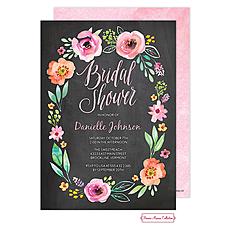 Watercolor Blossom Invitation -