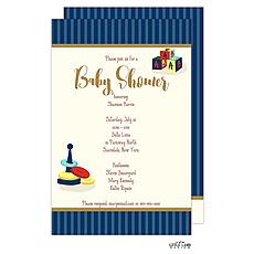 : Baby Toys Shower Invitation