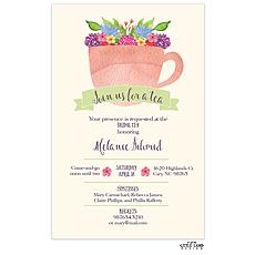 : Cup of Tea Invitation