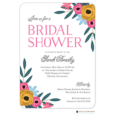 Flower Shower Invitation -