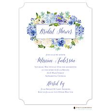 Heirloom Hydrangea Invitation -