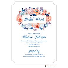 Modern Hydrangea Invitation -