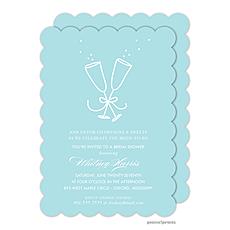 : Champagne Paradise Invitation