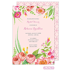 Bridal Blossoms Invitation -