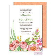 : English Rose Garden Invitation