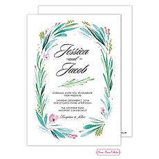 : Lovely Leaf Invitation