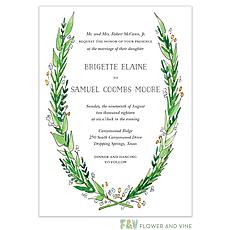 : Garden Wedding Invitation