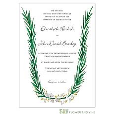 : Rosemary and Herbs Invitation