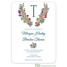 : Woodland Antlers Invitation