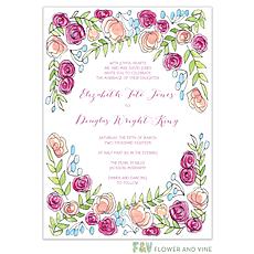: Sweet Pink Invitation