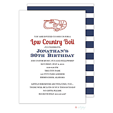 : Low Country Boil Invitation