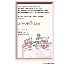 Tea Table Invitation -