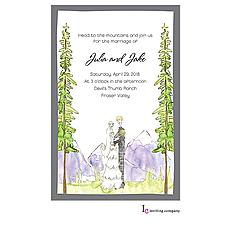 : Colorado Wedding Invitation