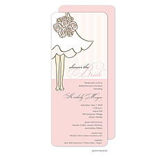 Shower The Bride Invitation -