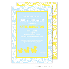 Little Duckies Shower Invitation -