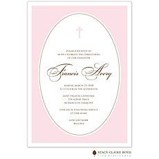 We are Blessed Pink Invitation -