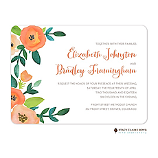 Perennial Promise Wedding Invitation -