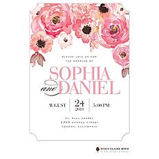Blushing Blooms Invitation -