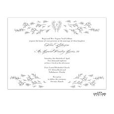 : Glistening Florets Foil-Pressed Invitation
