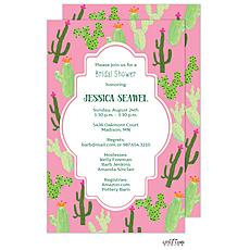 Cactus Invitation -