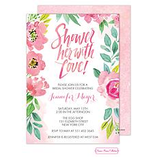 Blossoming Bridal Shower Invitation -