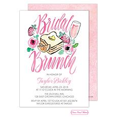 : Bridal Shower Brunch Invitation