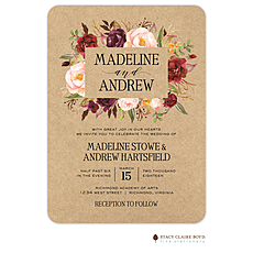 : Rustic Romance Invitation