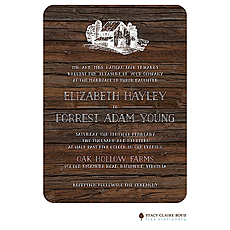 : Barn Wood Invitation