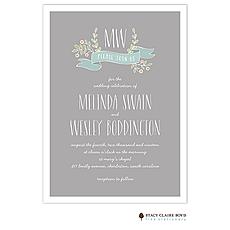 : Sweet Love Wedding Invitation