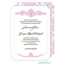 : Victorian Scrolls Invitation