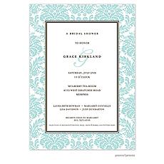 : Damask Invitation - Robin