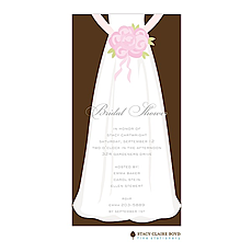 Here Comes The Bride Invitation -