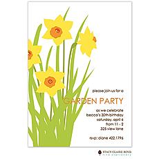 : Garden Party Invitation