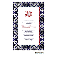 Nautique - Navy Invitation -