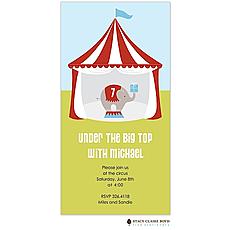 : Circus Fun Party Invitation