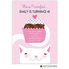 : Purrrfect Party Party Invitation