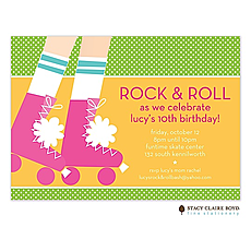 : Ready To Roll Party Invitation