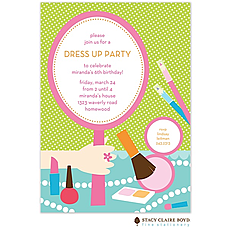 : All Dressed Up Party Invitation